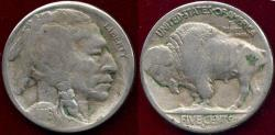 Us Coins - 1916-S BUFFALO NICKEL VG/FINE