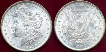Us Coins - 1884 MORGAN $1 MS63