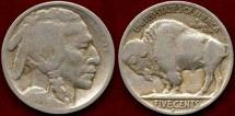 Us Coins - 1913-S TYPE 2... BUFFALO 5c ..   FINE
