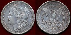 Us Coins - 1896-S  MORGAN $1   EXTRA FINE