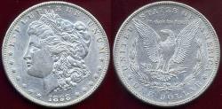 Us Coins - 1898-S MORGAN DOLLAR  AU55