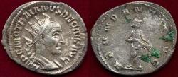 """Ancient Coins - TRAJAN DECIUS  250-251AD  Antoninianus """" Annona"""""""