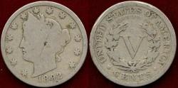 Us Coins - 1892 LIBERTY 5c ....... GOOD