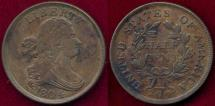 Us Coins - 1804 Pl.4, Stems  1/2c  XF