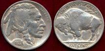 Us Coins - 1927-S  BUFFALO 5c  VF30