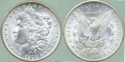 Us Coins - 1900-O MORGAN $1  MS65+  WHITE... Well struck