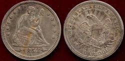 Us Coins - 1853 ARROWS/RAYS  25c AU