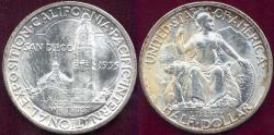 Us Coins - SAN DIEGO 1935-S 50c Commemorative MS64