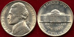 Us Coins - 1950    5c  GEM UNCIRCULATED