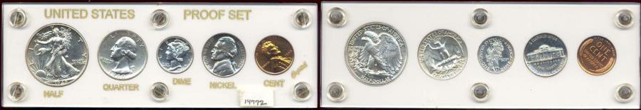 US Coins - 1940 GEM PROOF SET