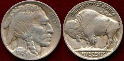 Us Coins - 1915-D BUFFALO 5c  XF40  FULL HORN   (NGC VF35)