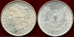 Us Coins - 1896-O MORGAN $1   CHOICE AU55