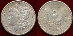 Us Coins - 1902-S MORGAN $1.... PCGS  AU58