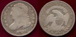 Us Coins - 1834 BUST 10c  GOOD+
