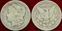 Us Coins - 1894-S MORGAN $1...... GOOD