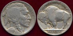 Us Coins - 1918 BUFFALO 5c FINE