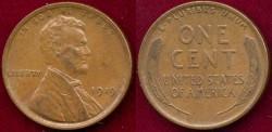 Us Coins - 1919  LINCOLN 1c  SHARP  AU