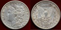 Us Coins - 1888-S  Morgan $1 ....   Choice EXTRA FINE