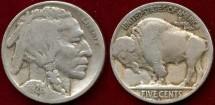 Us Coins - 1926-S  Buffalo 5c .....   FINE/VG