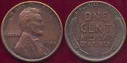 Us Coins - 1924-S LINCOLN 1c AU58 ... SHARP STRIKE