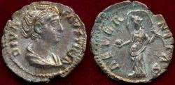 Ancient Coins - FAUSTINA Sr.  After Death c.143 AD  DENARIUS