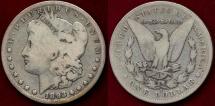 Us Coins - 1893-S MORGAN $1  VG
