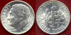 Us Coins - 1948-D  10c .... GEM UNCIRCULATED
