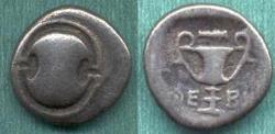 Ancient Coins - BOEOTIA/THEBES  426-395 BC  TRIOBOL