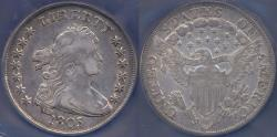 Us Coins - 1803 small 3  HERALDIC EAGLE BUST $1  VF