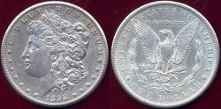 Us Coins - 1898-S MORGAN DOLLAR AU50