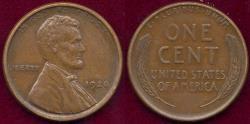 Us Coins - 1920-S LINCOLN 1c AU