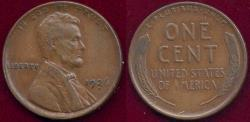 Us Coins - 1926-D LINCOLN 1c XF