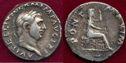 Ancient Coins - VITELLIUS 69 AD .... Denarius