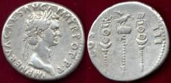 Ancient Coins - NERVA  98 AD  CISTOPHORUS