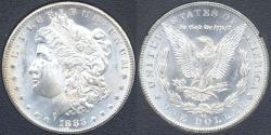 Us Coins - 1883-CC MORGAN $1  MS63 WHITE.... GSA HOLDER