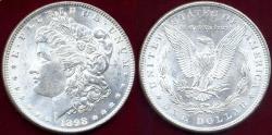 Us Coins - 1898 MORGAN $1 MS64 WHITE