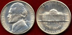 Us Coins - 1947-S  5c  GEM UNCIRCULATED