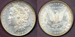 Us Coins - 1878 STRONG 7/8TF  MORGAN  $1  MS64