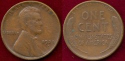 Us Coins - 1924-D   1c   VERY FINE