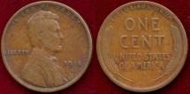 Us Coins - 1914-S  1c  ...  FINE