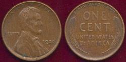 Us Coins - 1920-S LINCOLN  1c  XF45