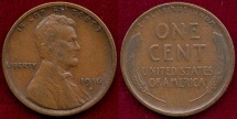 Us Coins - 1916-S LINCOLN 1c  VF