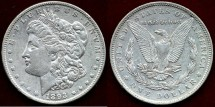 Us Coins - 1893  $1  MORGAN  XF