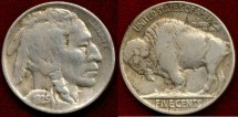 Us Coins - 1925-D  BUFFALO 5c ........... EXTRA FINE