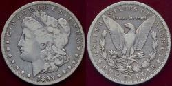 Us Coins - 1893-CC MORGAN DOLLAR VF20
