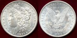 Us Coins - 1891-S MORGAN $1 MS64