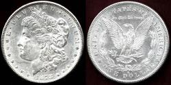 Us Coins - 1878-S MORGAN $1 MS64  WHITE