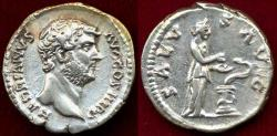 Ancient Coins - HADRIAN  117-138 AD DENARIUS