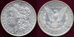 Us Coins - 1894-O MORGAN $1 AU55    SHARP STRIKE!