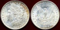 Us Coins - 1888-O MORGAN $1 MS64  Well Struck